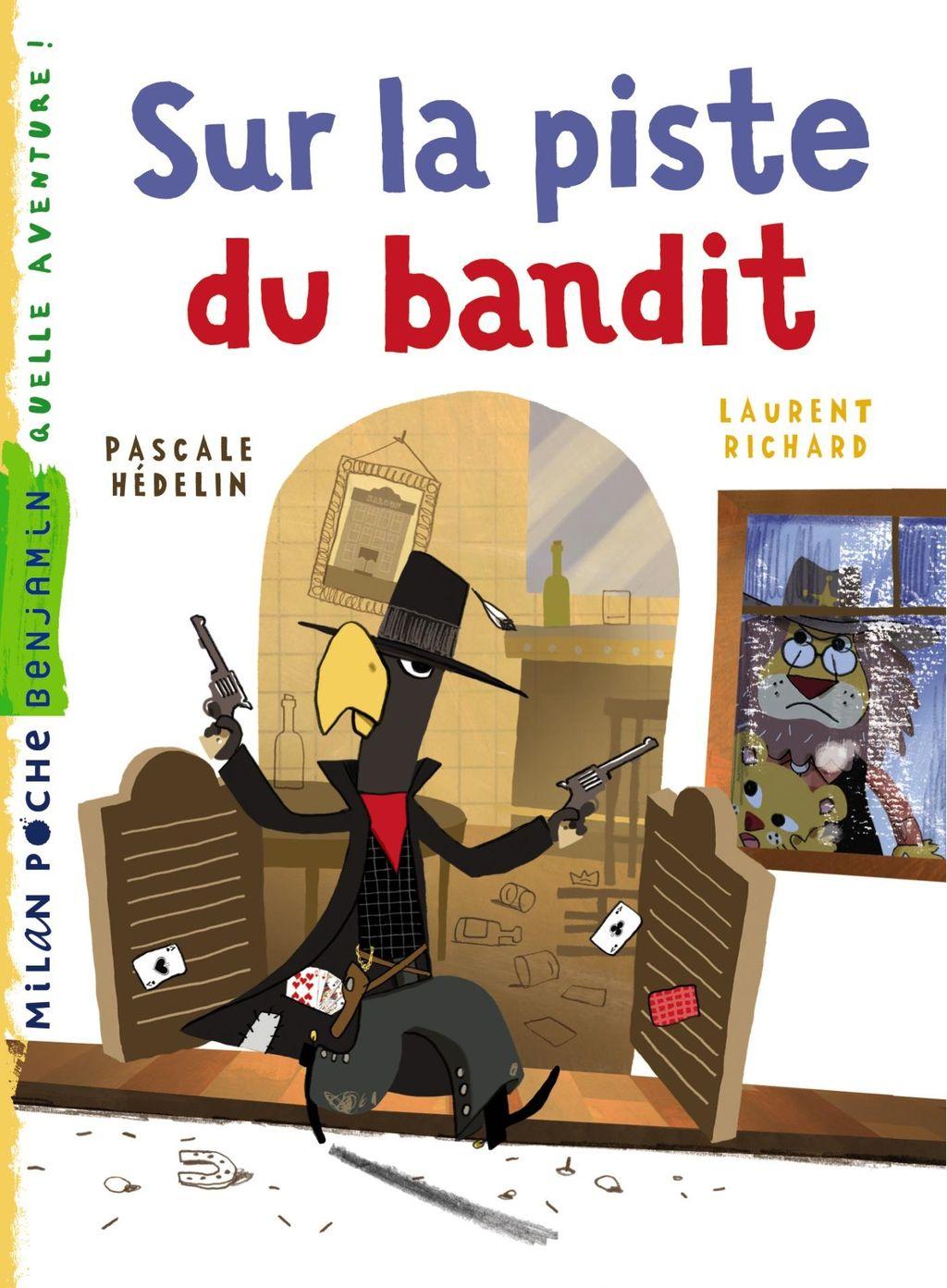 «Sur la piste du bandit» cover