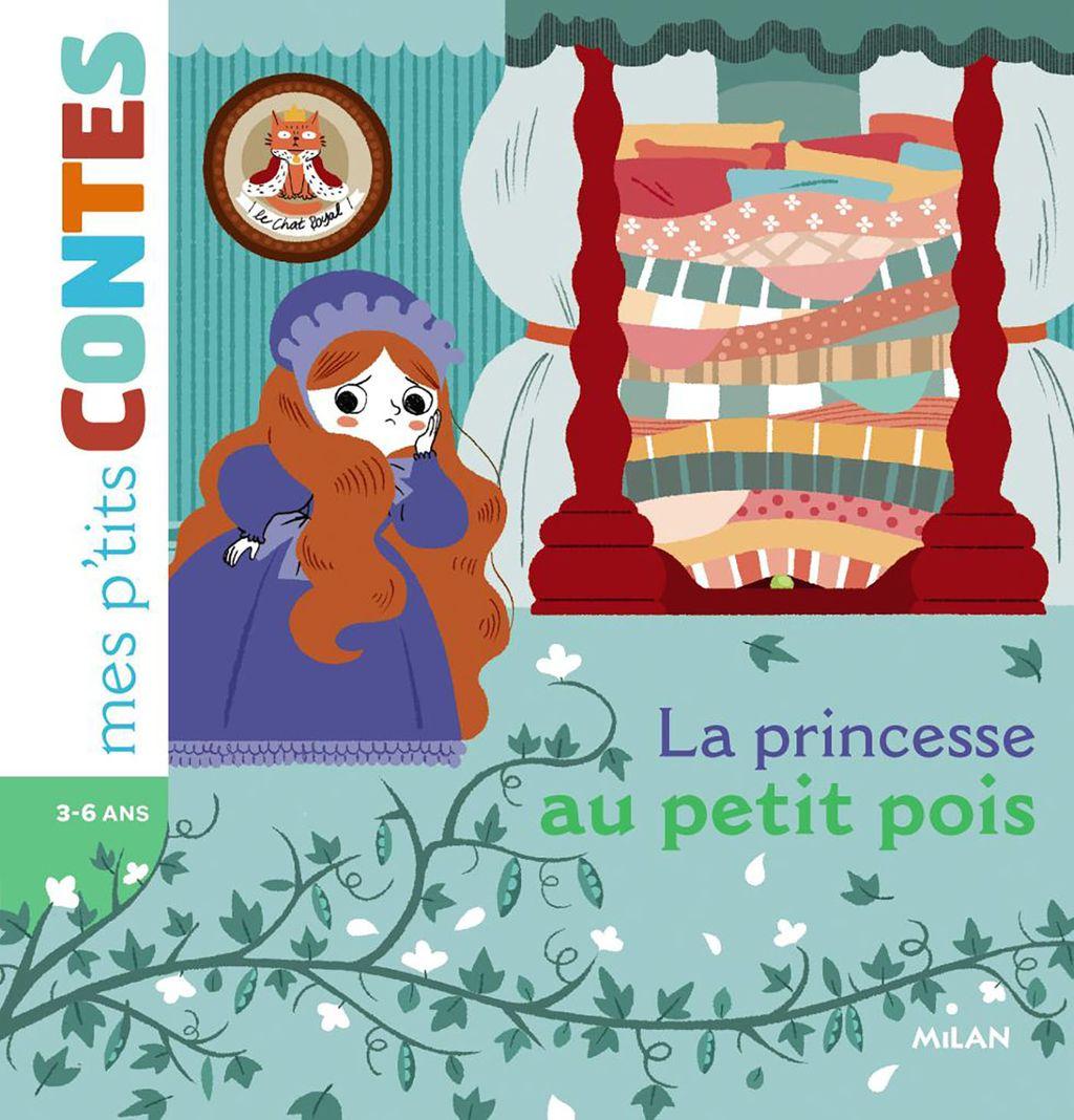 Couverture de «La princesse au petit pois»