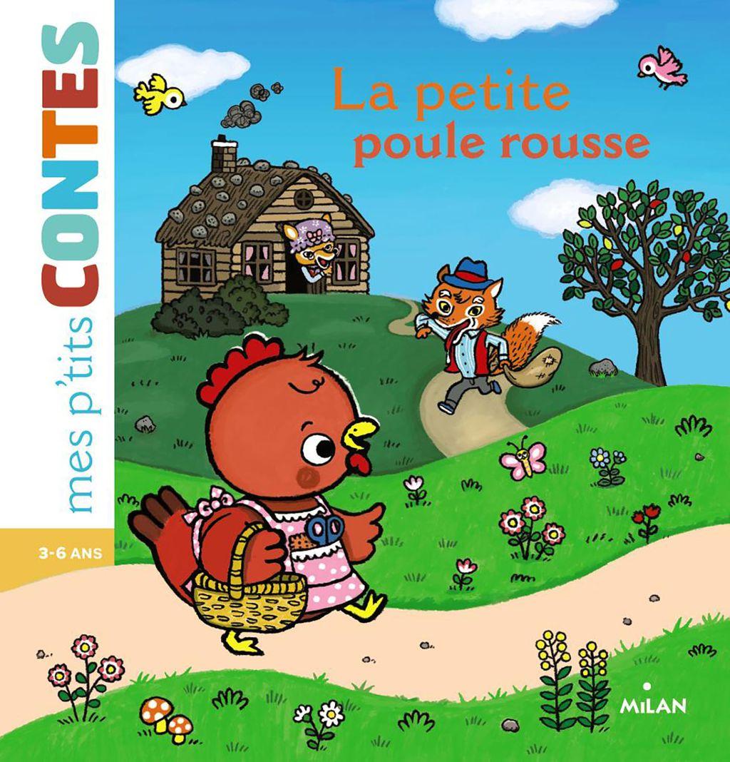 «La petite poule rousse» cover