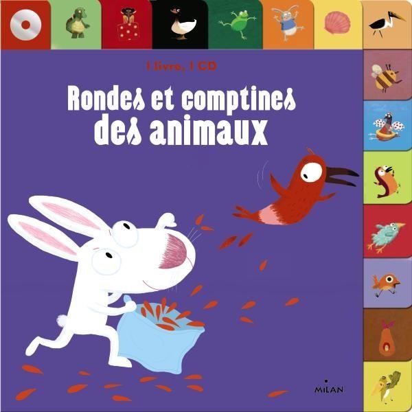 Couverture de «Rondes et comptines des animaux + CD»