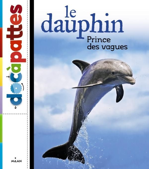 Couverture de «Le dauphin, prince des vagues»