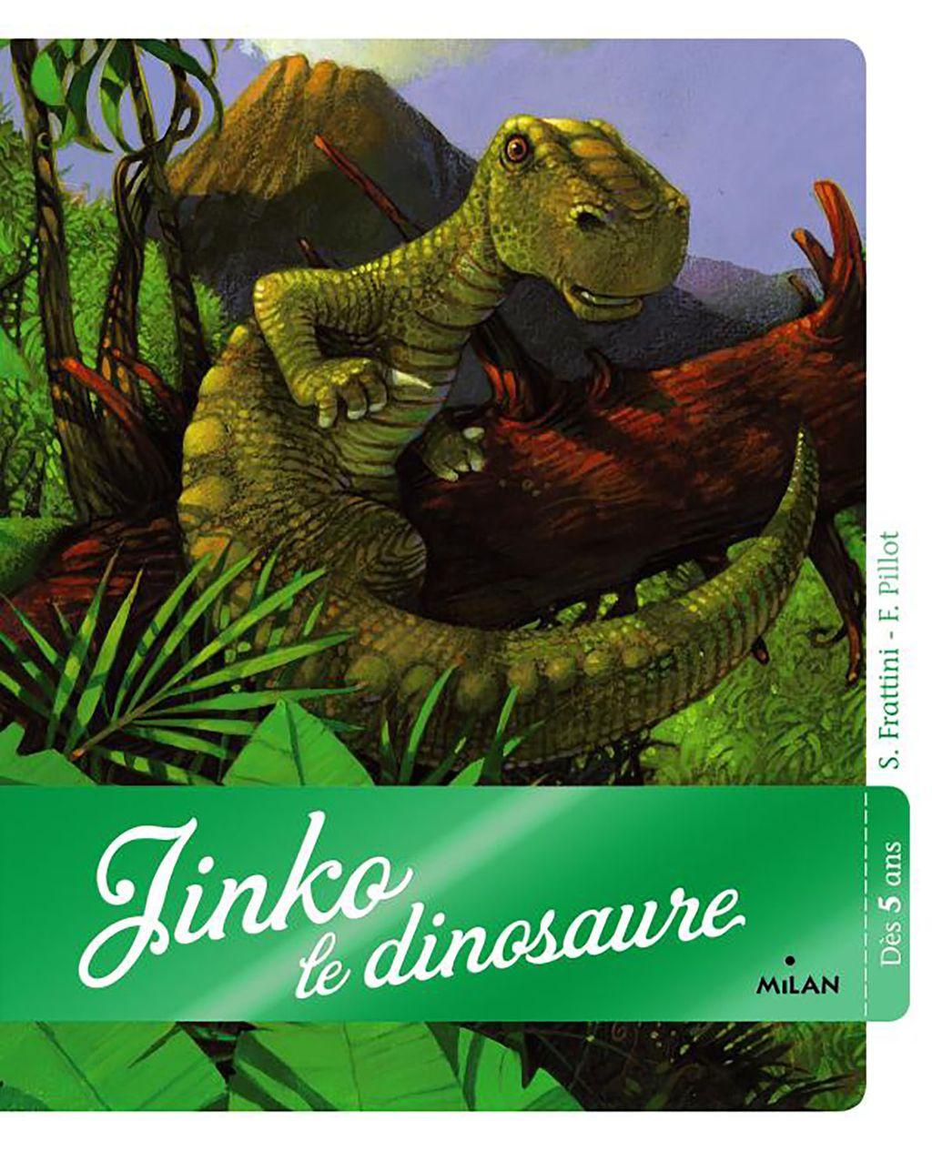 «Jinko le dinosaure» cover