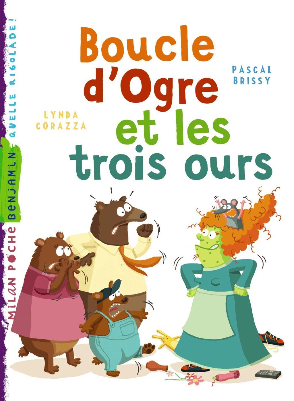 «Boucle d'ogre et les trois ours» cover
