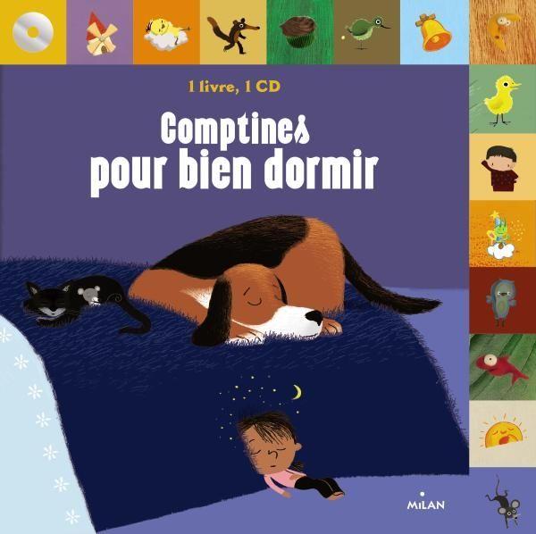 Couverture de «Comptines pour bien dormir + CD»