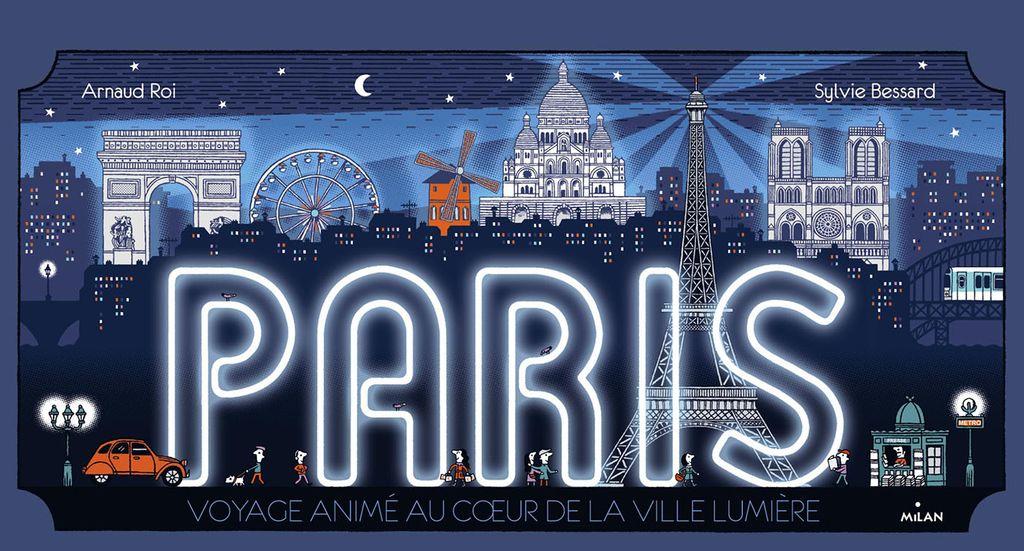 «Paris , promenade animée au cœur de la plus belle ville du monde» cover