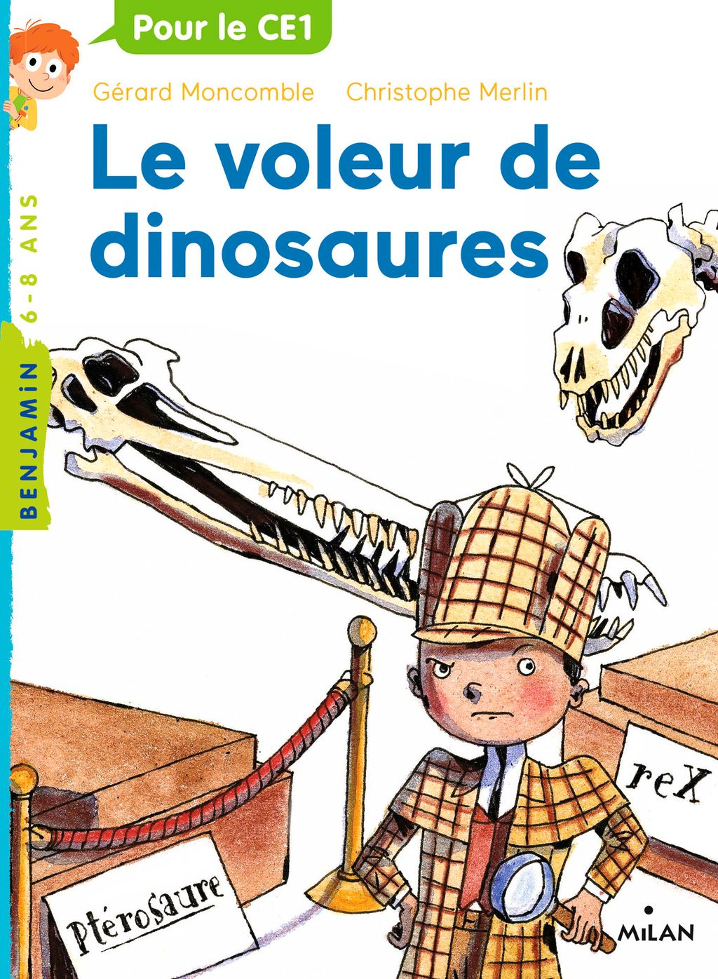 «Le voleur de dinosaures» cover