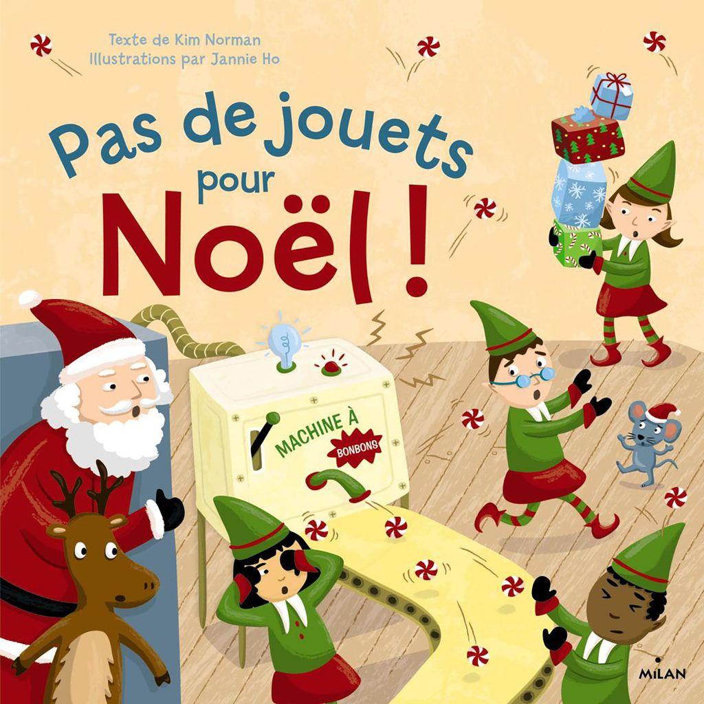 Couverture de «Pas de jouets pour Noël !»