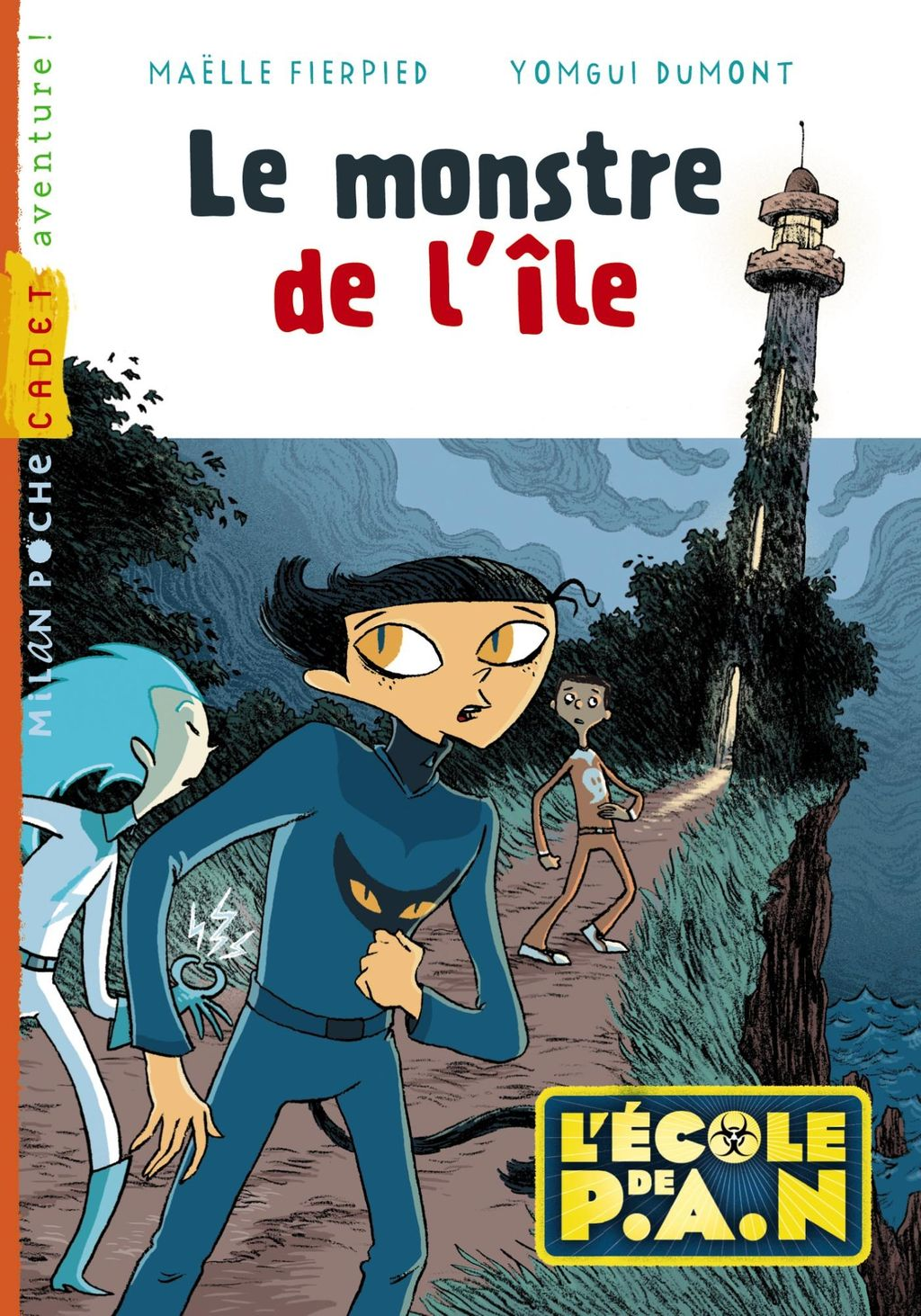 « Le monstre de l'île » cover
