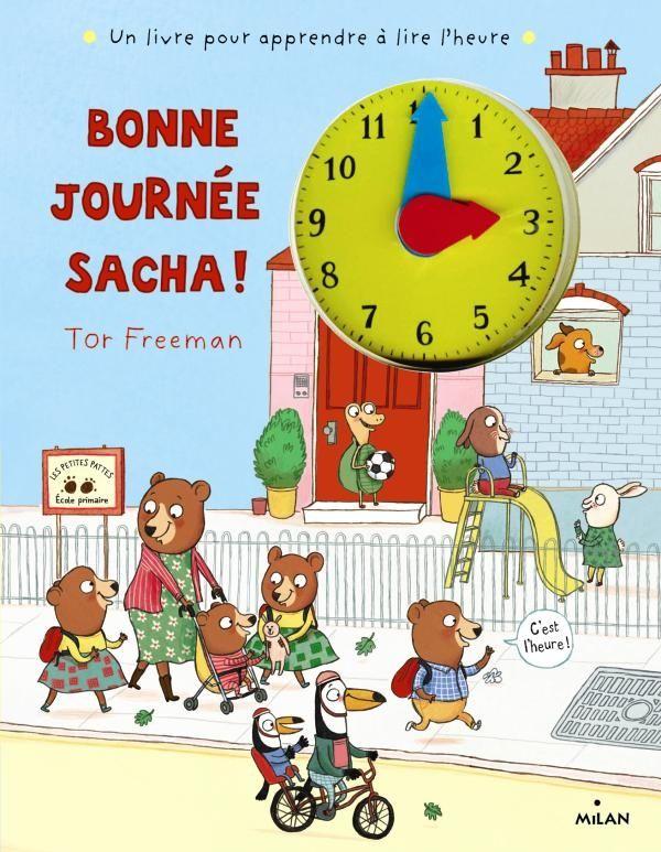 Couverture de «Bonne journée, Sacha !»