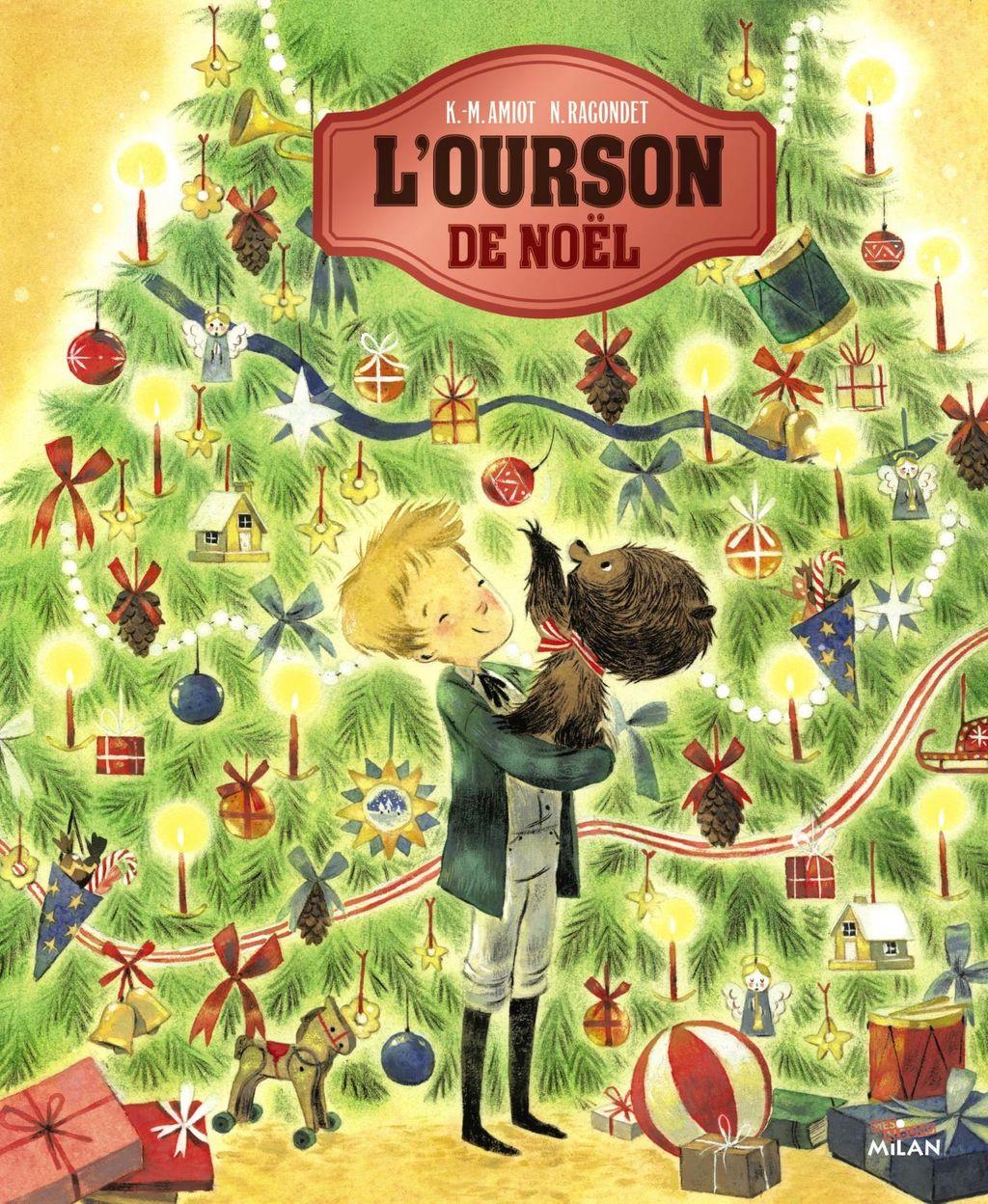 Couverture de «L'ourson de Noël»