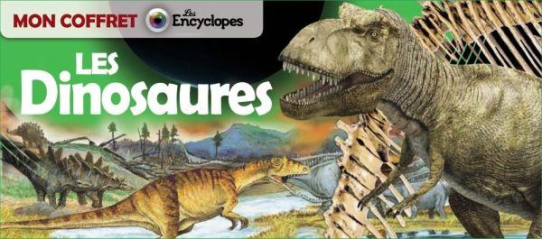 Couverture de «Mon coffret – Les dinosaures»