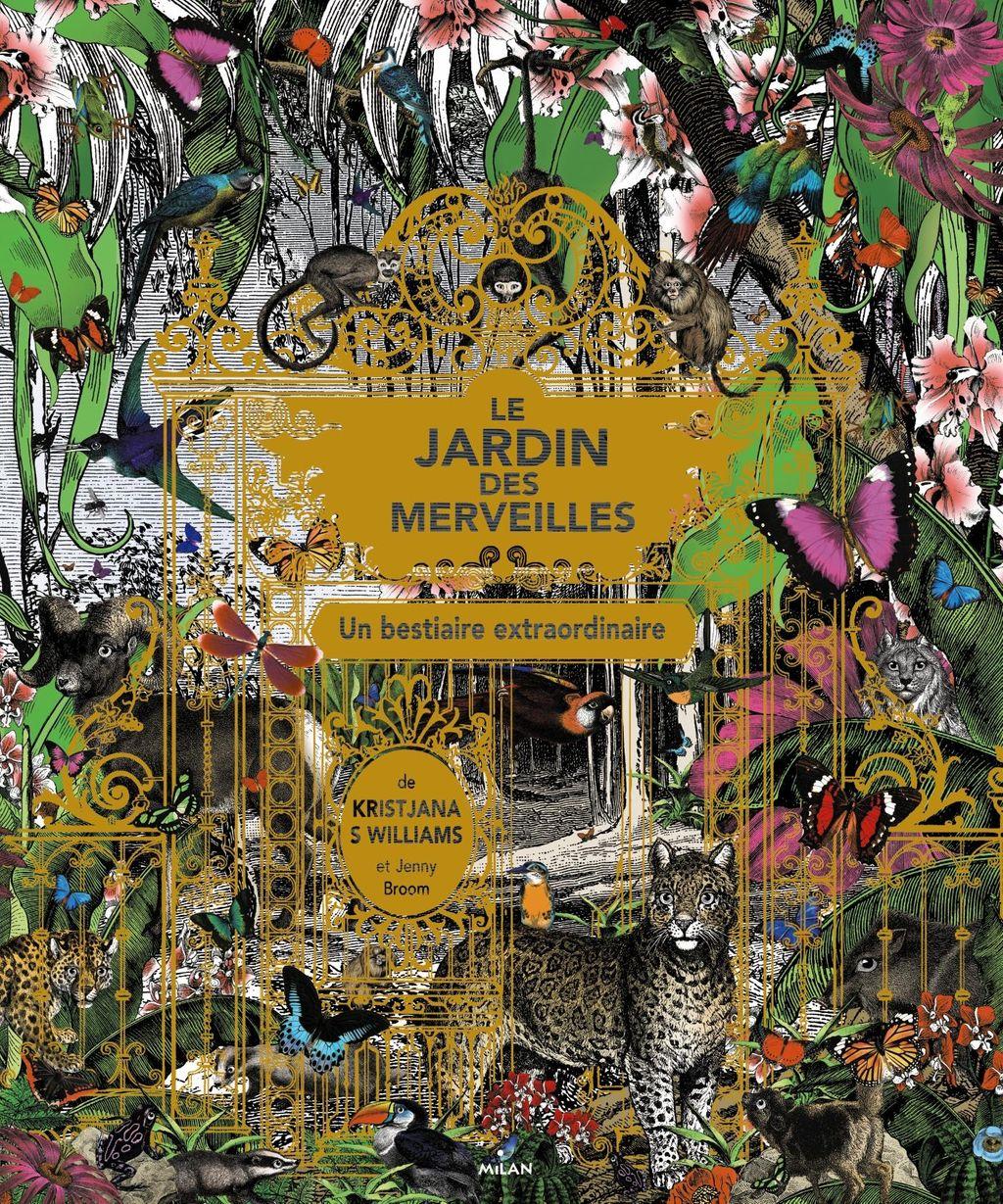 Couverture de «Le jardin des merveilles»