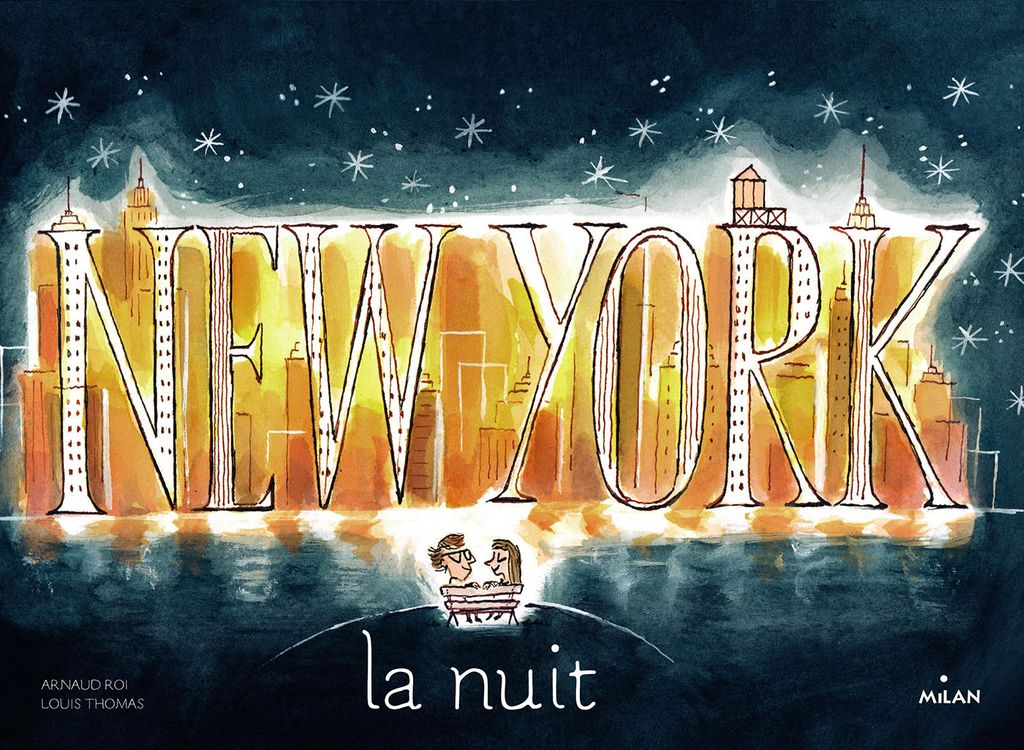 « New York la nuit » cover