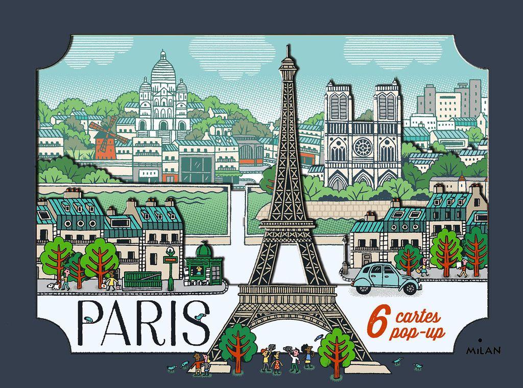 Couverture de «Cartes pop-up Paris»