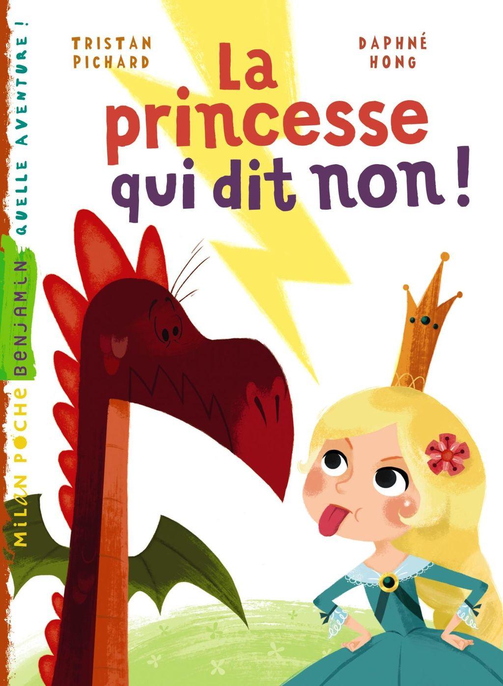 Couverture de «La princesse qui dit non»