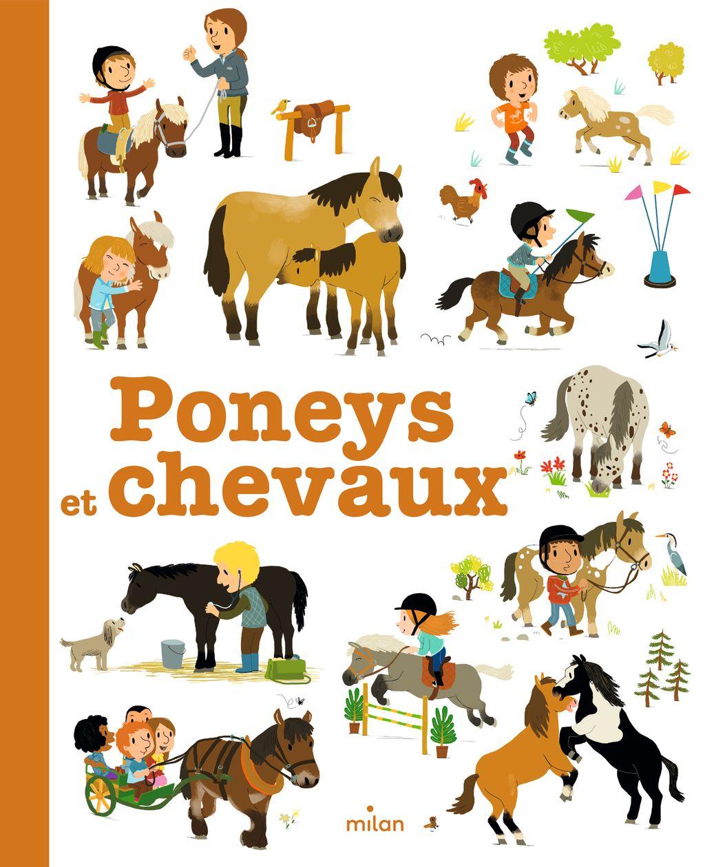 Couverture de «Poneys et chevaux»