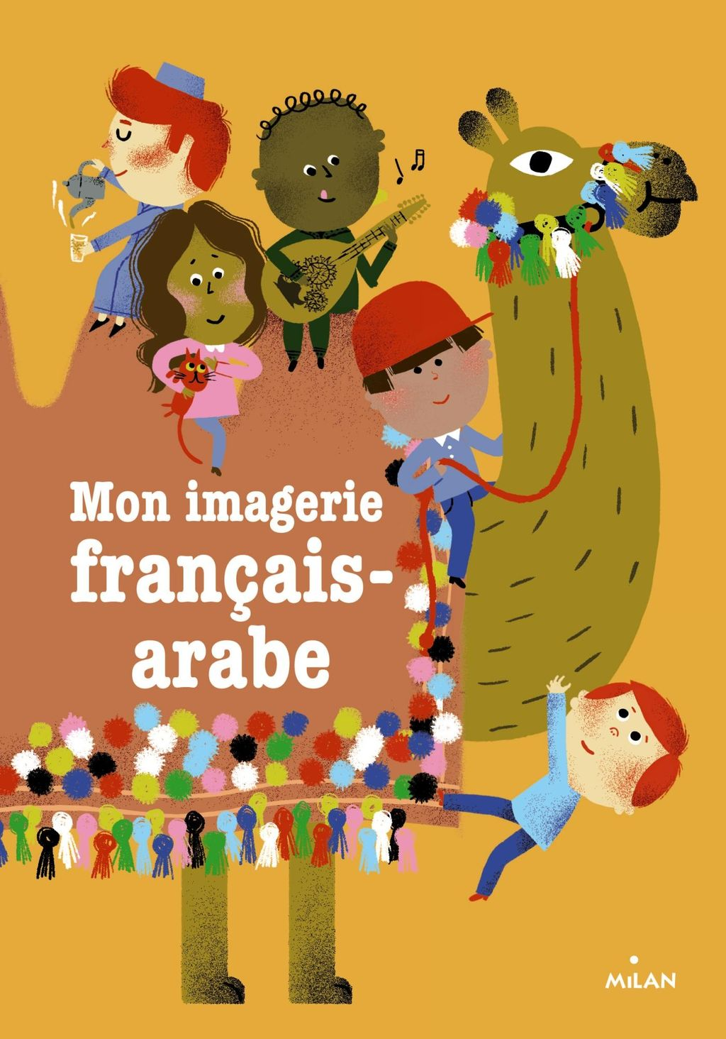 Couverture de «Mon imagerie français-arabe»