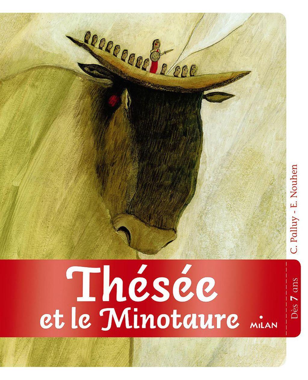 Couverture de «Thésée et le Minotaure»