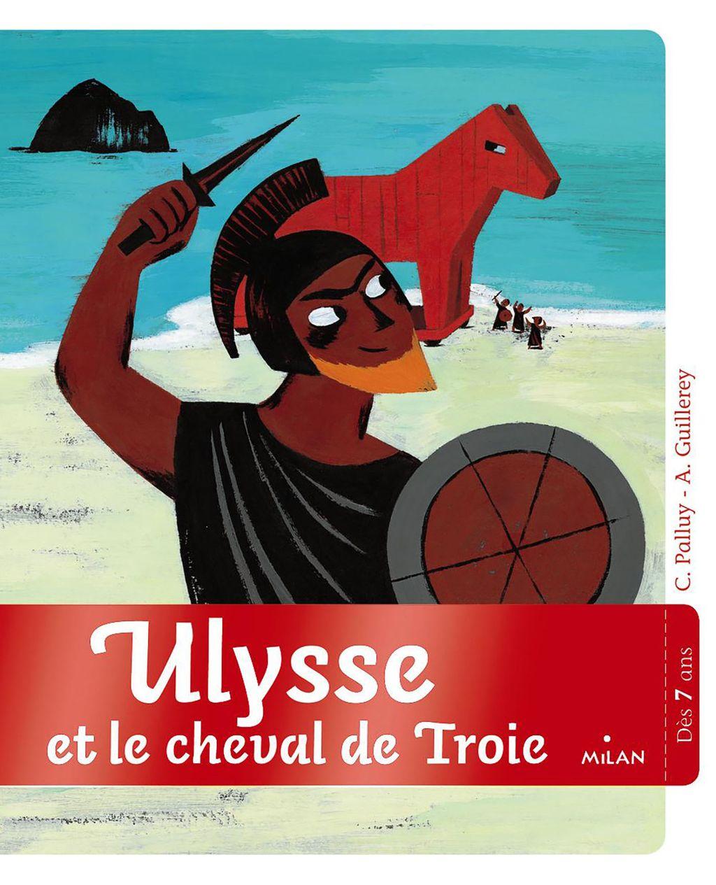 «Ulysse et le cheval de Troie» cover
