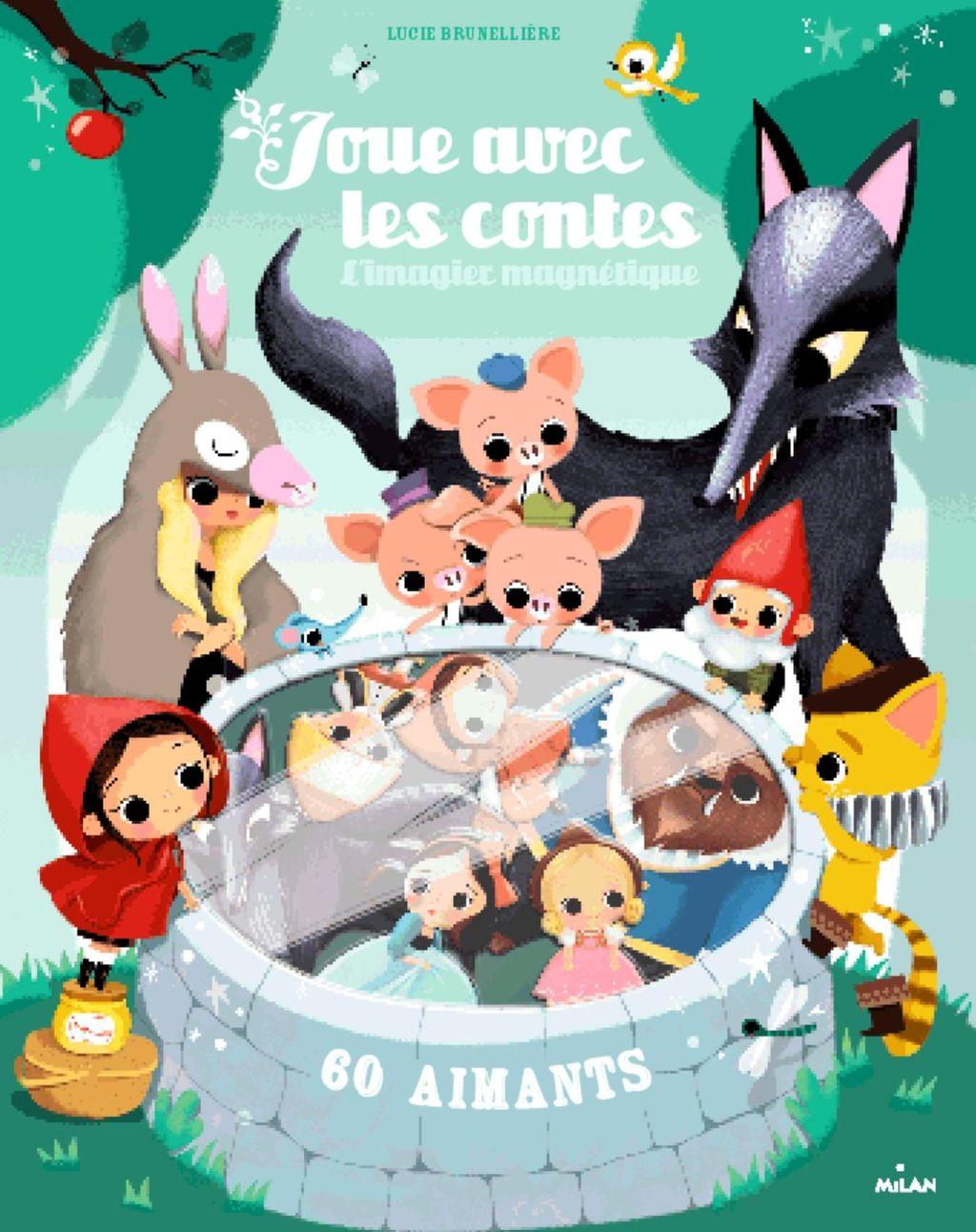 Couverture de «Joue avec les contes – 60 aimants»