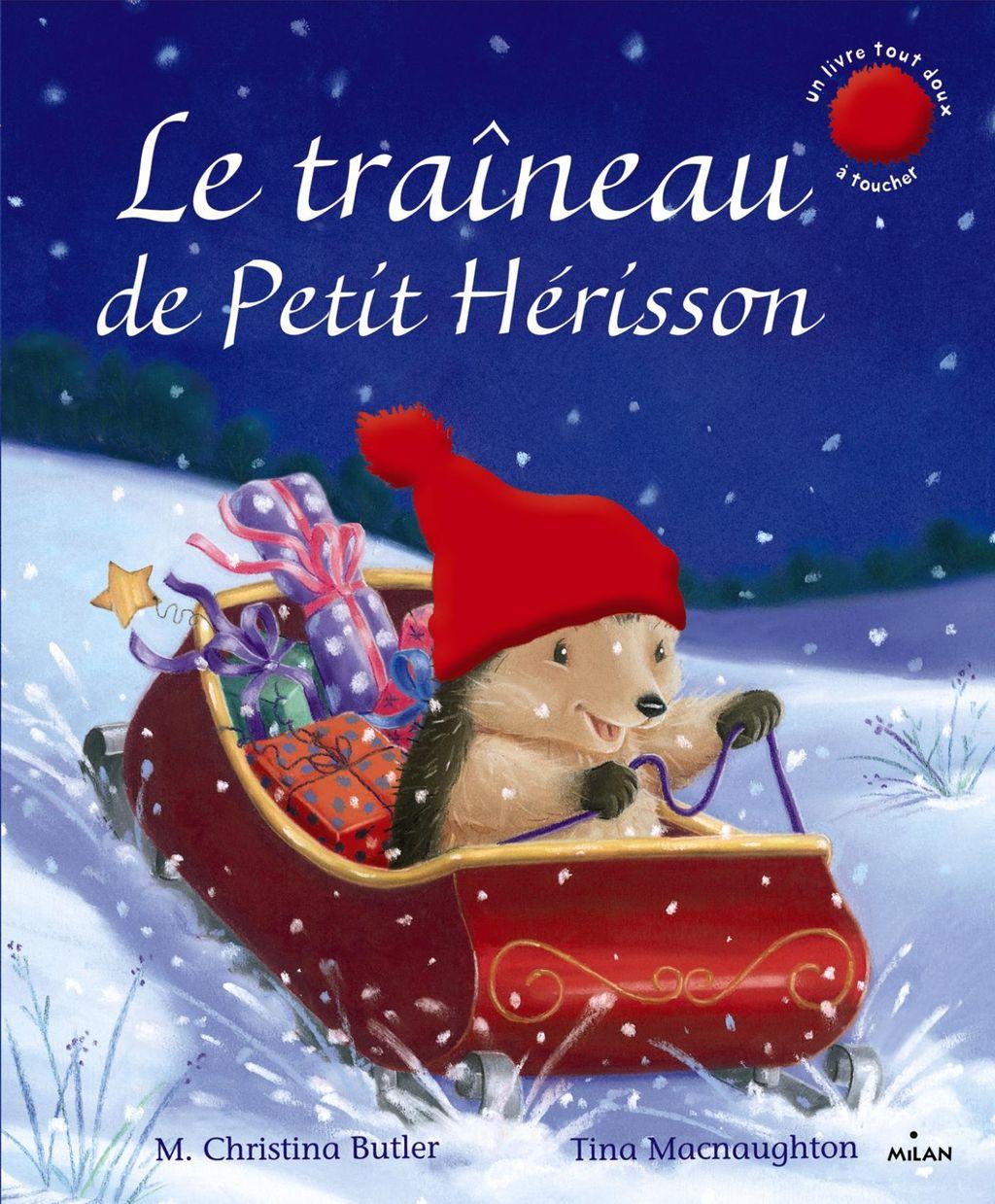 Couverture de «Le traîneau de Petit Hérisson»
