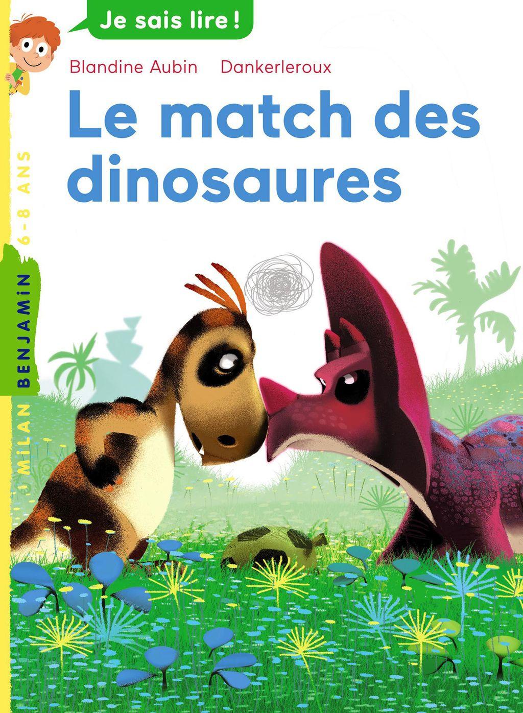 Couverture de «Le match des dinosaures»
