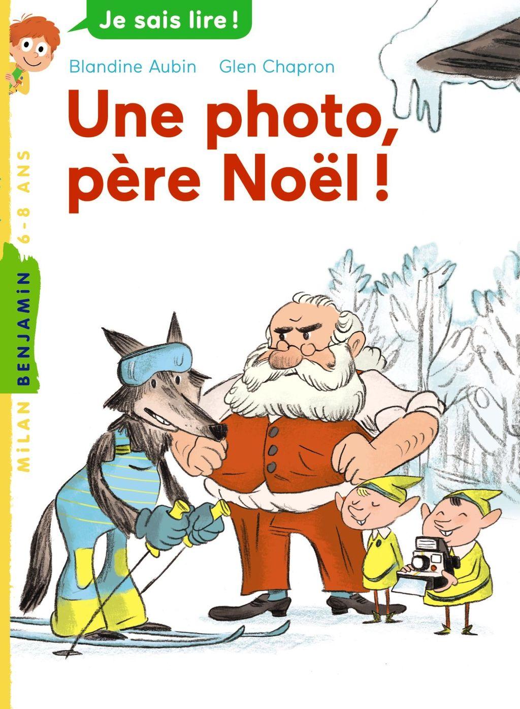 «Une photo, père Noël !» cover