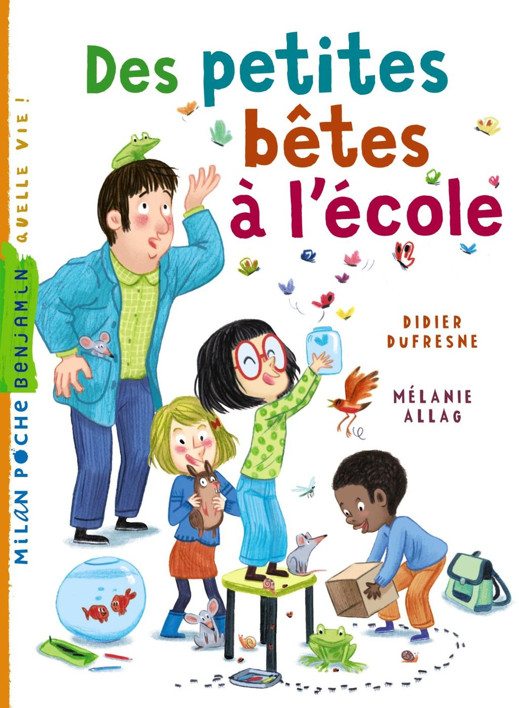 «Des petites bêtes à l'école» cover