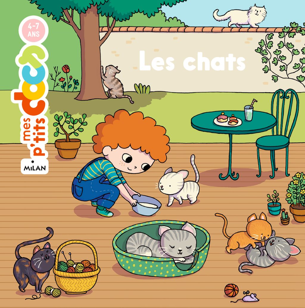 « Les chats » cover