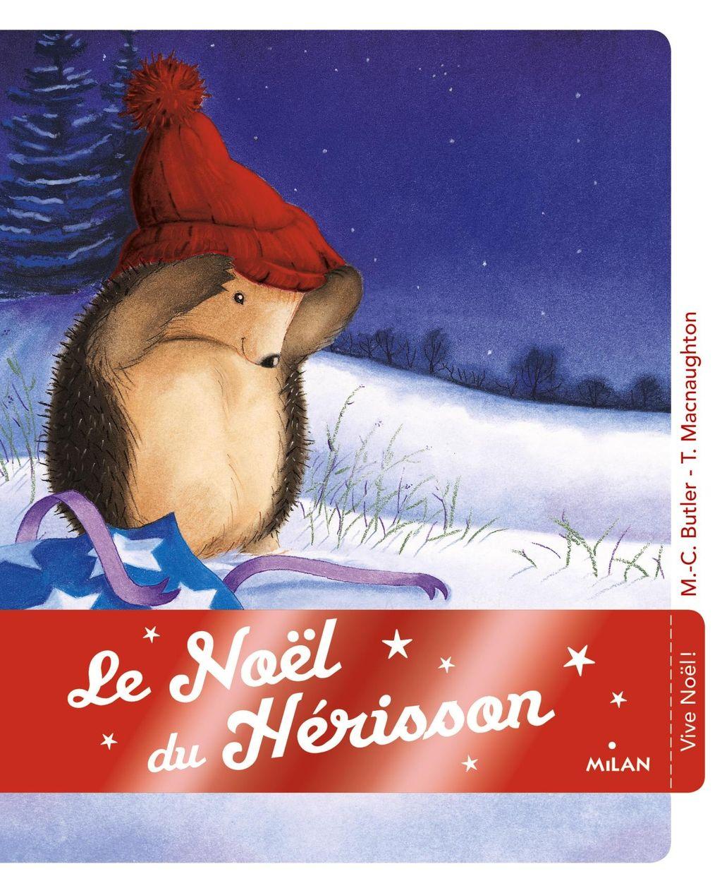 Couverture de «Le Noël du hérisson»