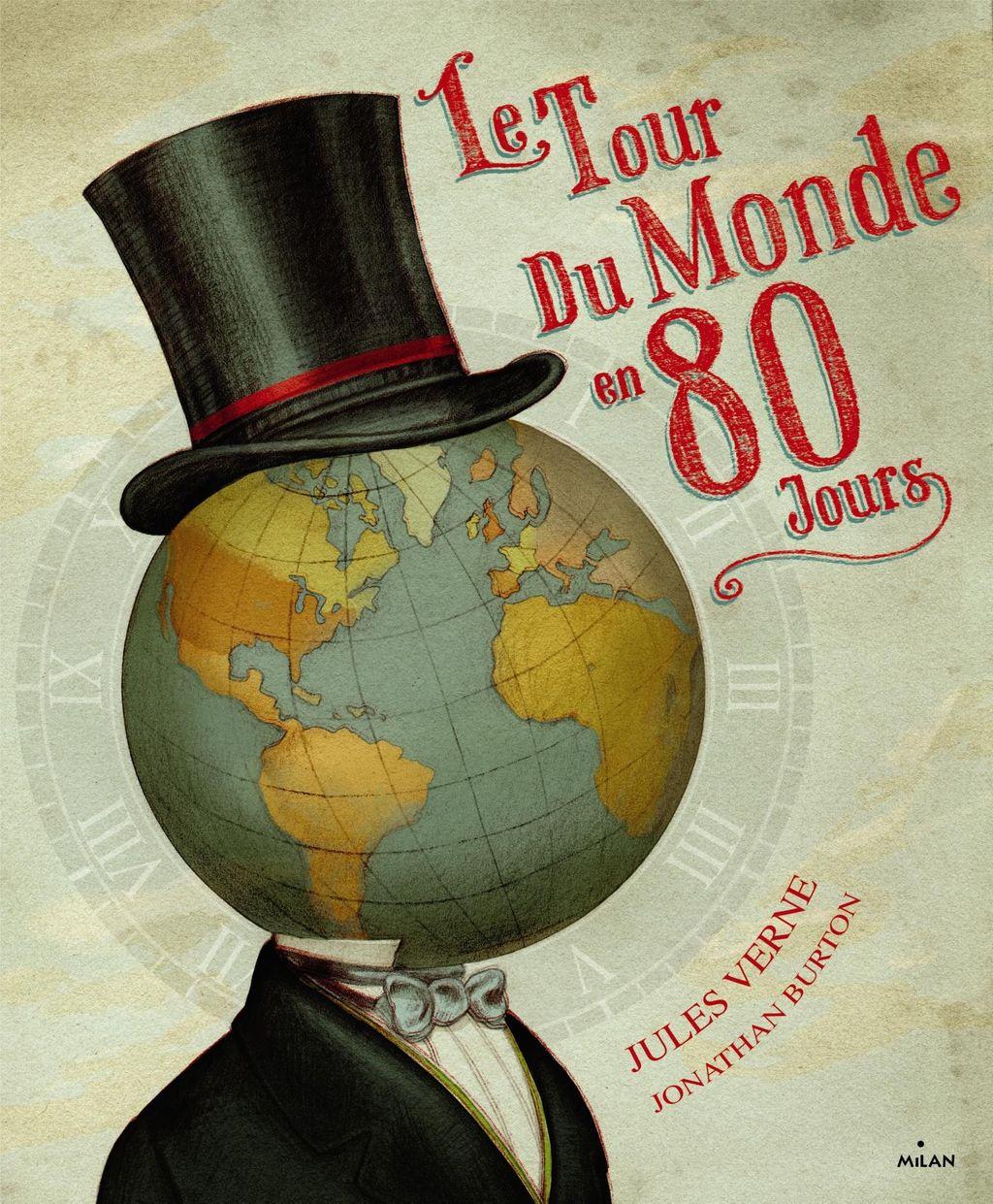 «Le tour du monde en 80 jours» cover
