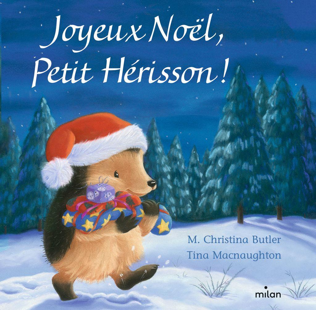 Couverture de «Joyeux Noël, Petit Hérisson ! (tout-carton)»