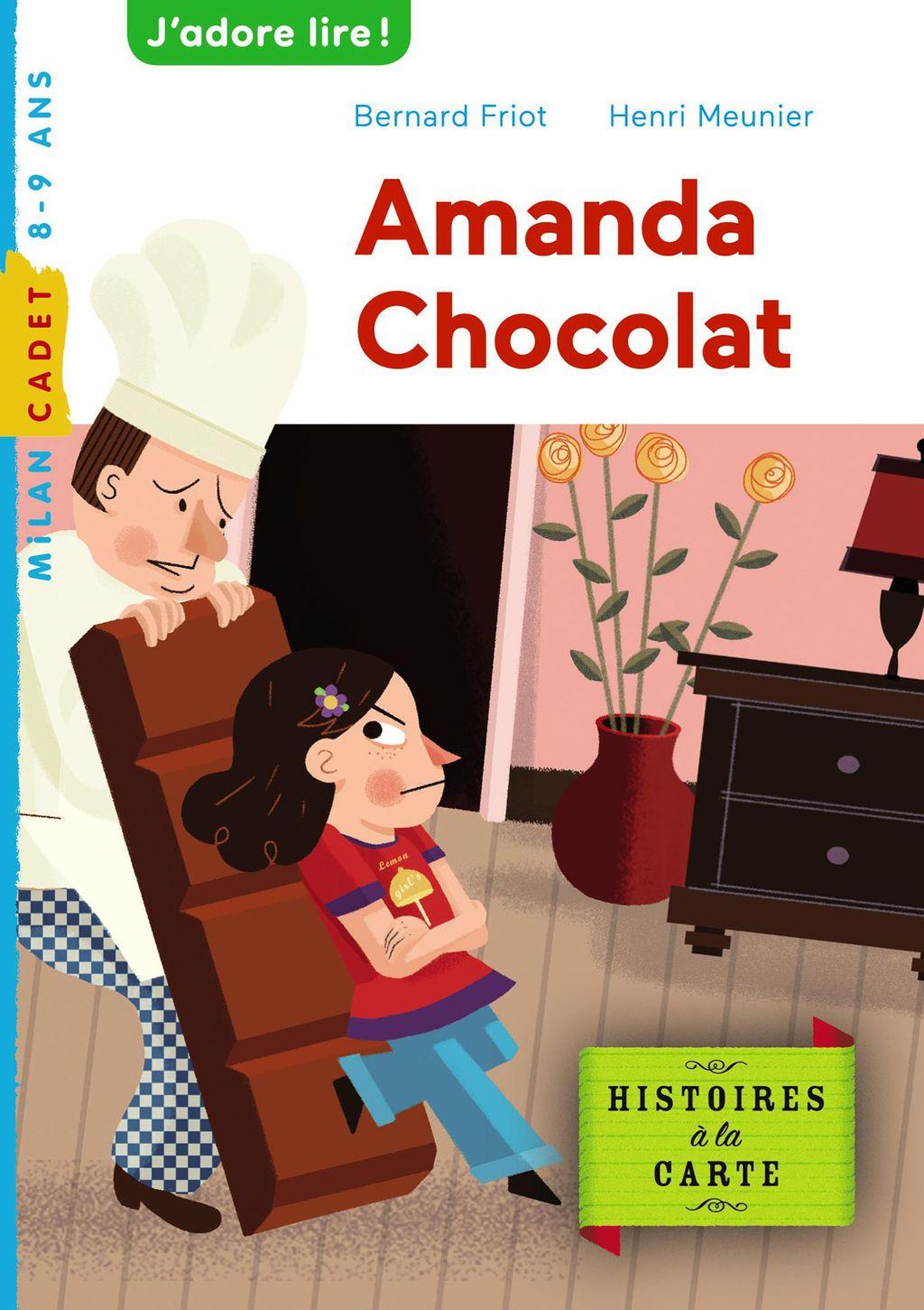 Couverture de «Amanda chocolat»