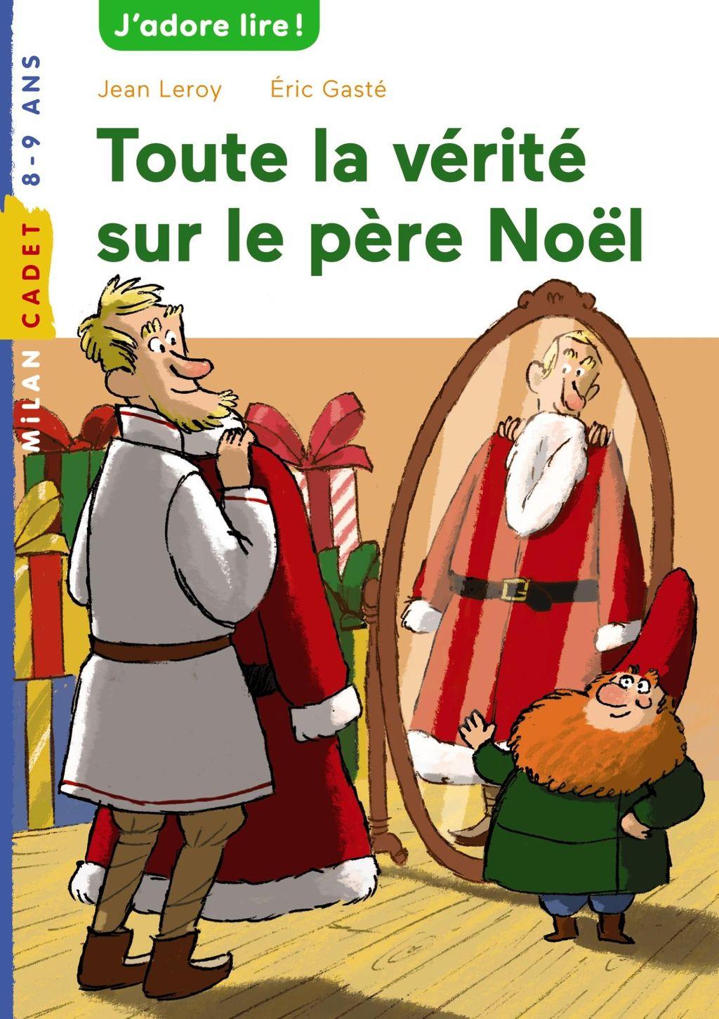 «Toute la vérité sur le père Noël» cover