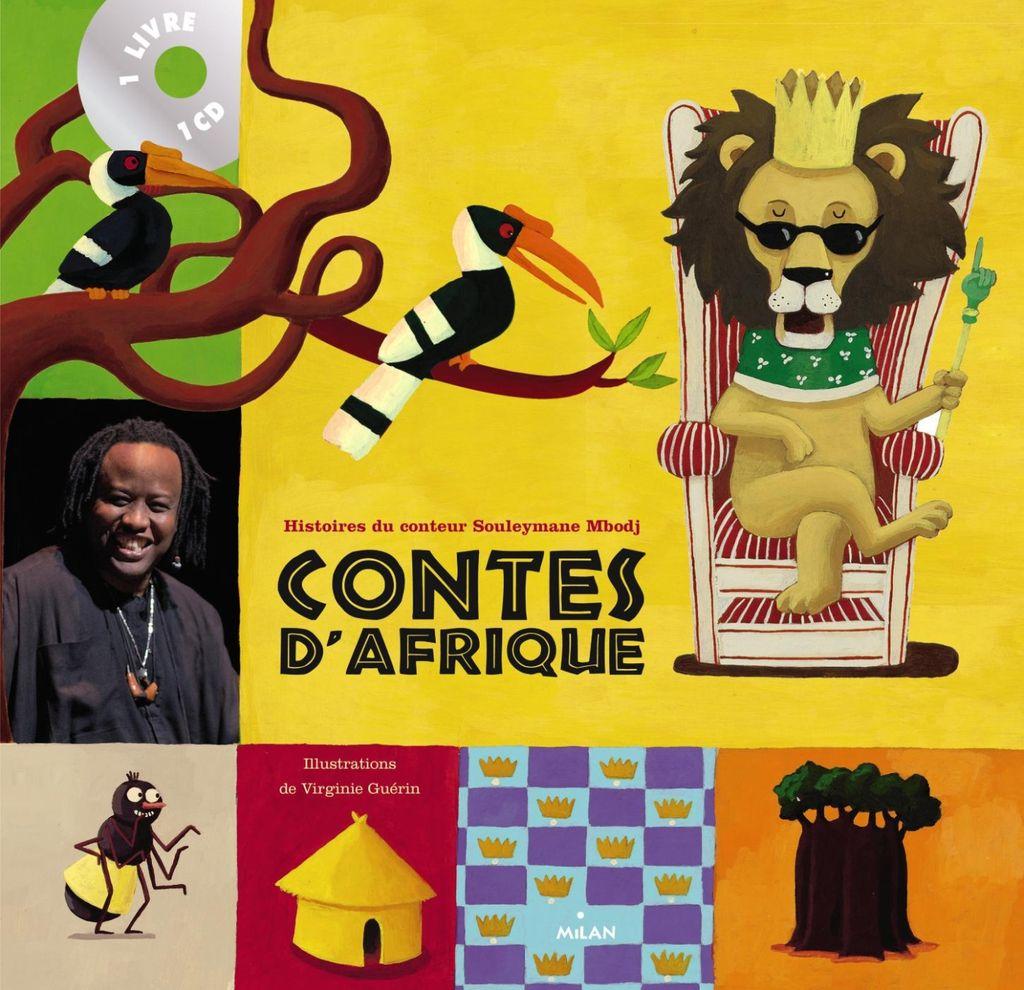 Couverture de «Contes d'Afrique + CD»