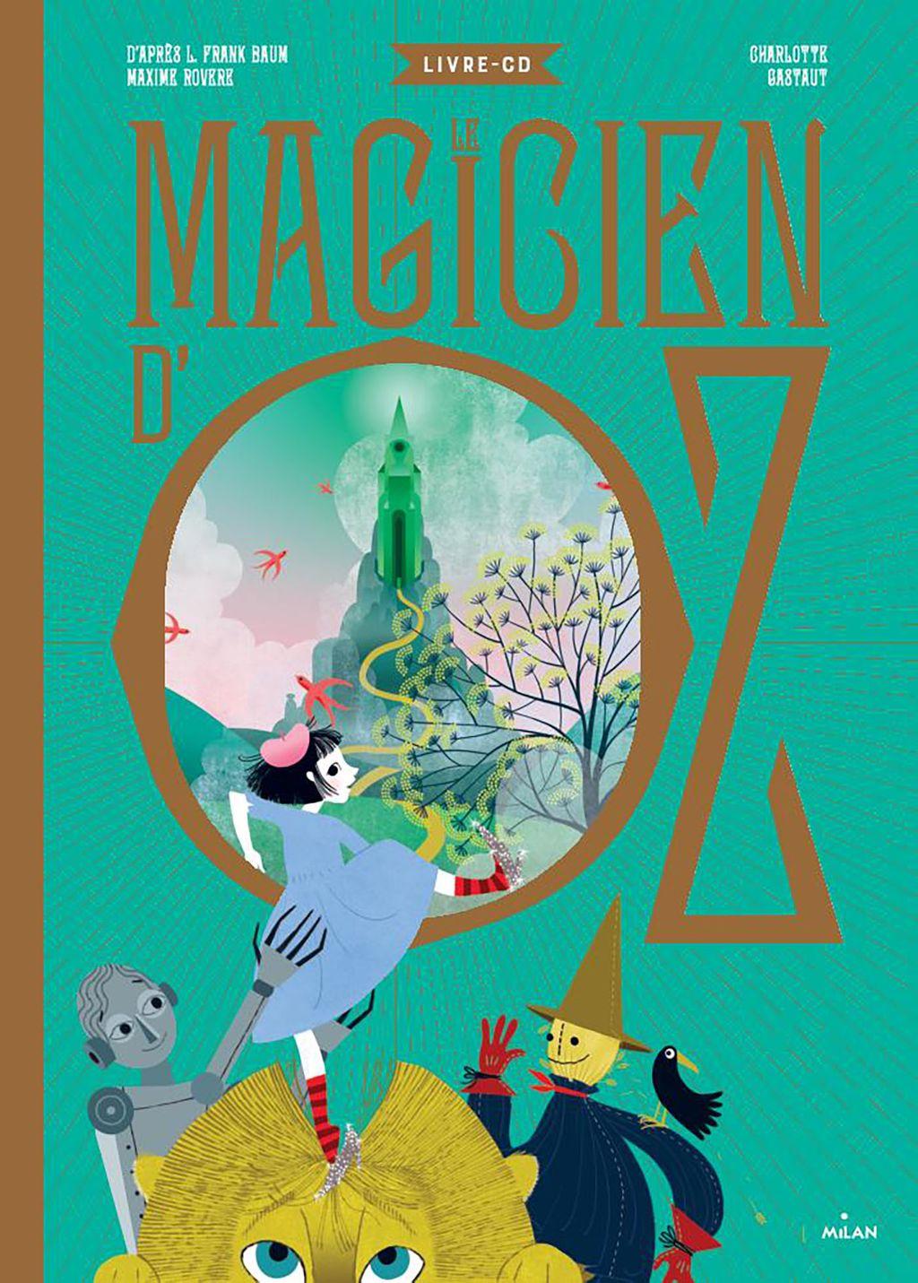 Couverture de «Le magicien d'Oz»