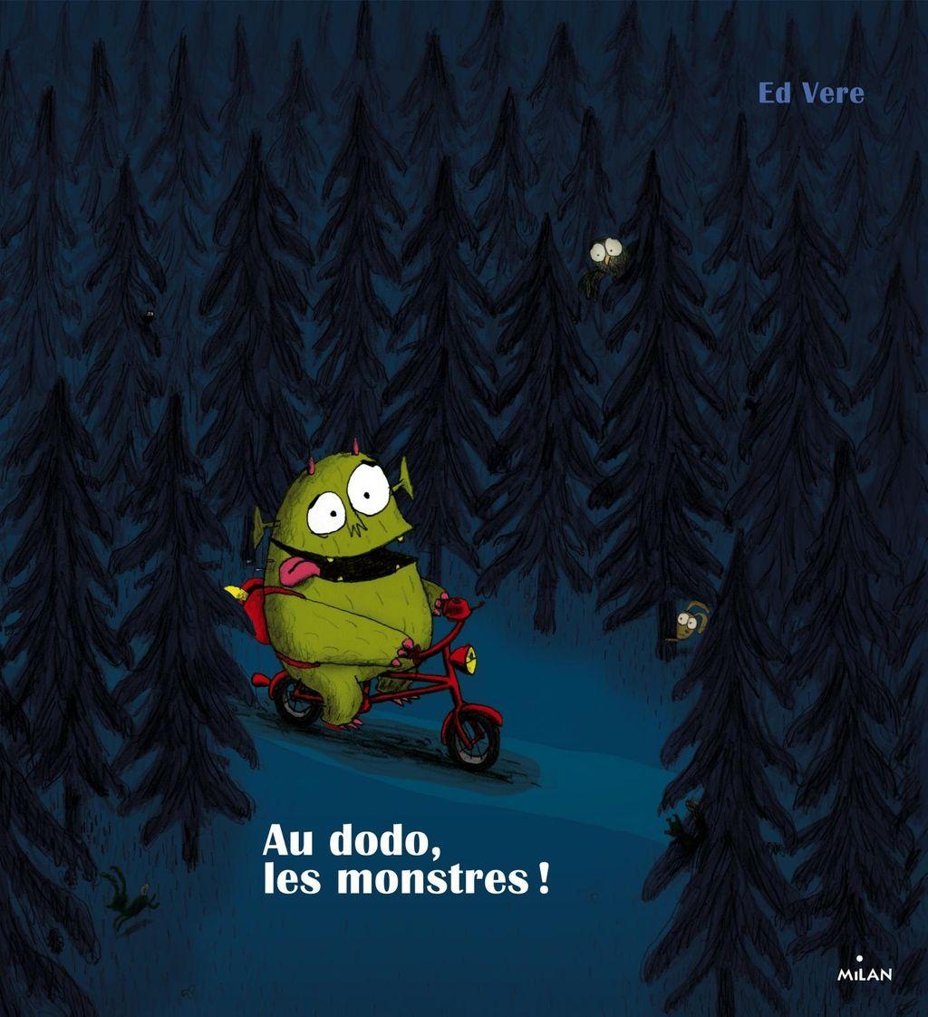 Couverture de «Au dodo les monstres!»