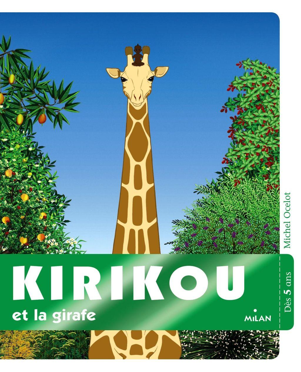 Couverture de «Kirikou et la girafe»
