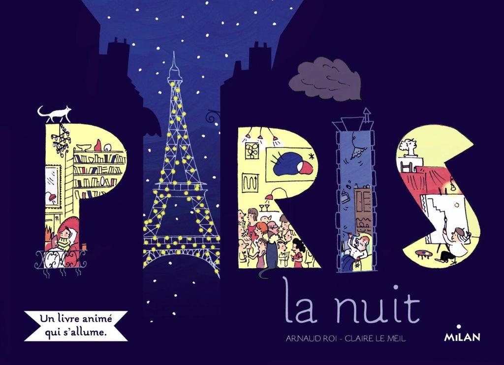 Couverture de «Paris la nuit»