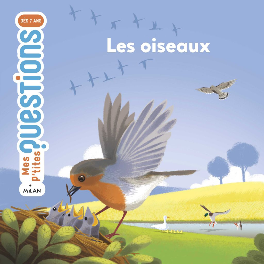 Couverture de «Les oiseaux»