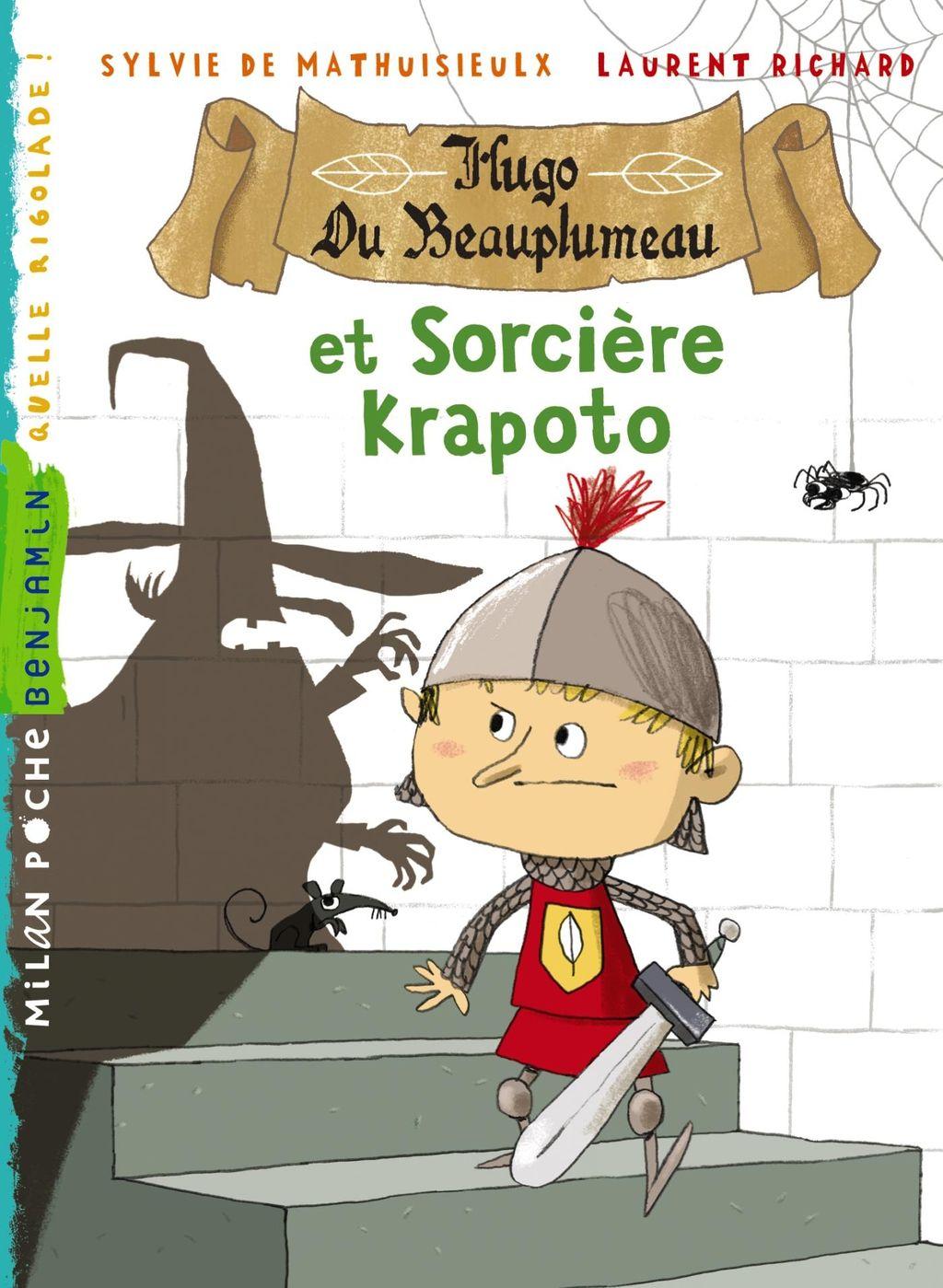 «Hugo du Beauplumeau et la sorcière Krapoto» cover