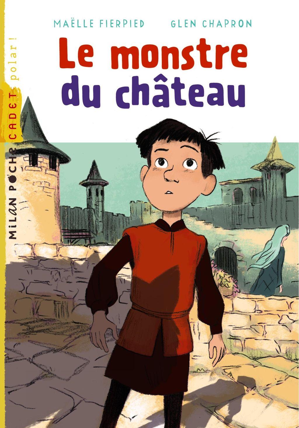 «Le monstre du château» cover