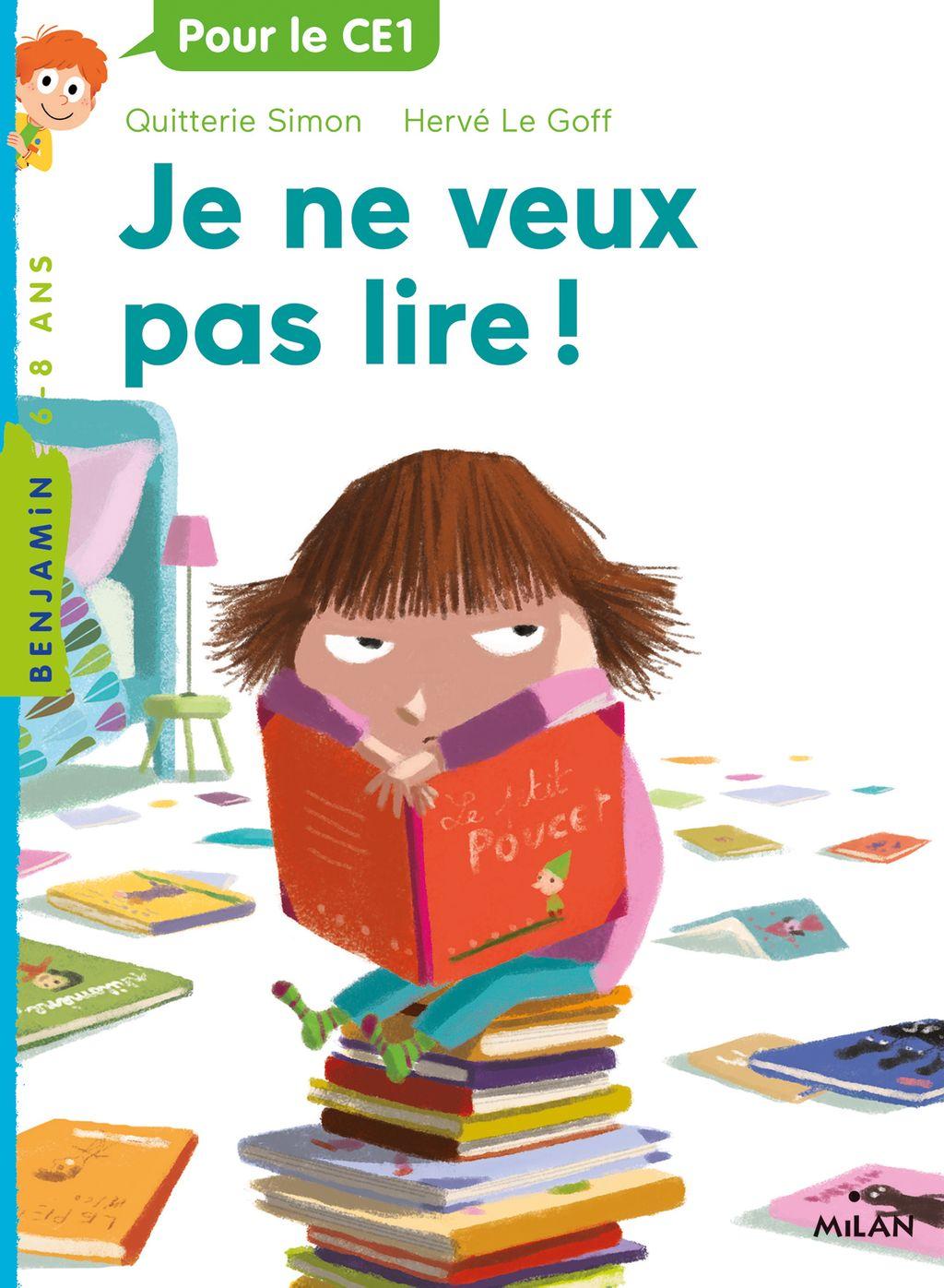Couverture de «Je ne veux pas lire !»