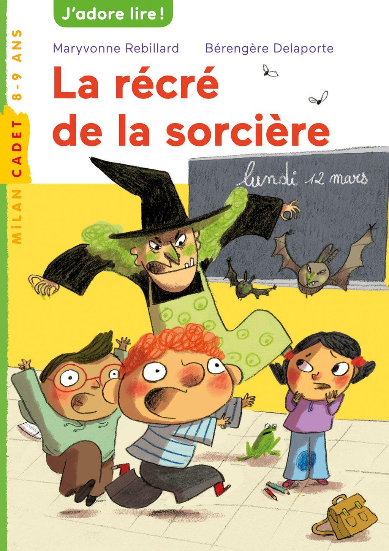 «La récré de la sorcière» cover