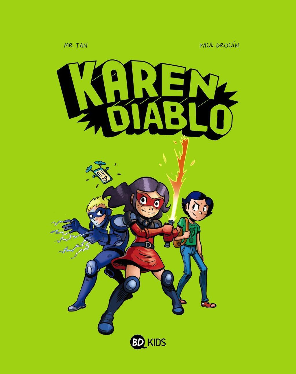 Couverture de «Karen Diablo»