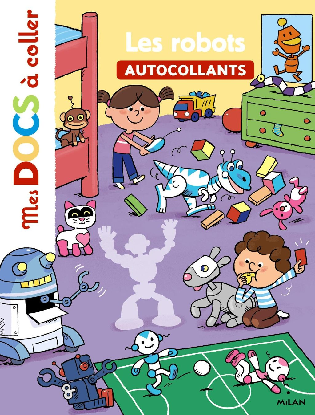 «Les robots» cover