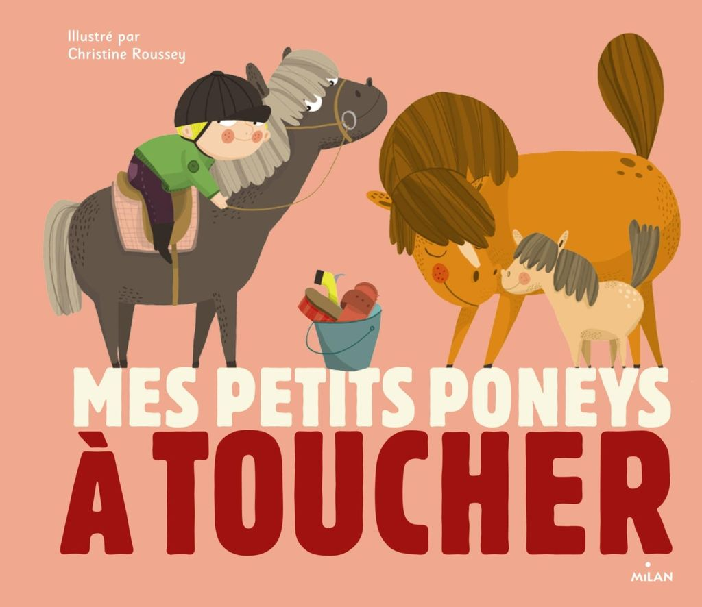 Couverture de «Mes petits poneys à toucher»