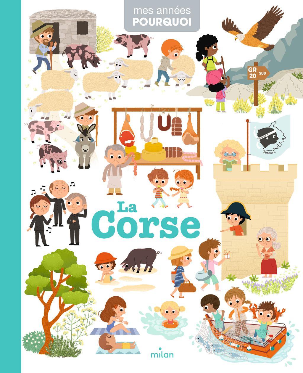 «La Corse» cover