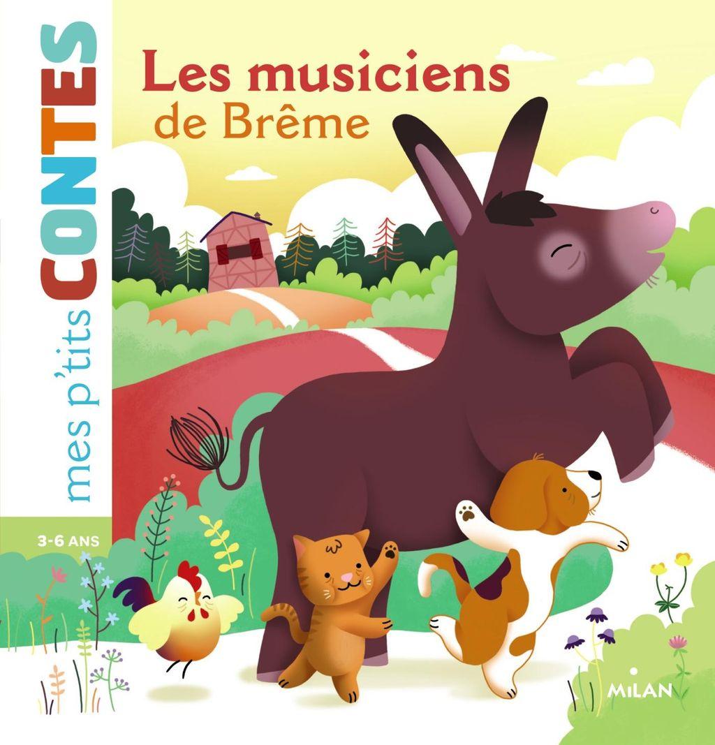 Couverture de «Les musiciens de Brême»
