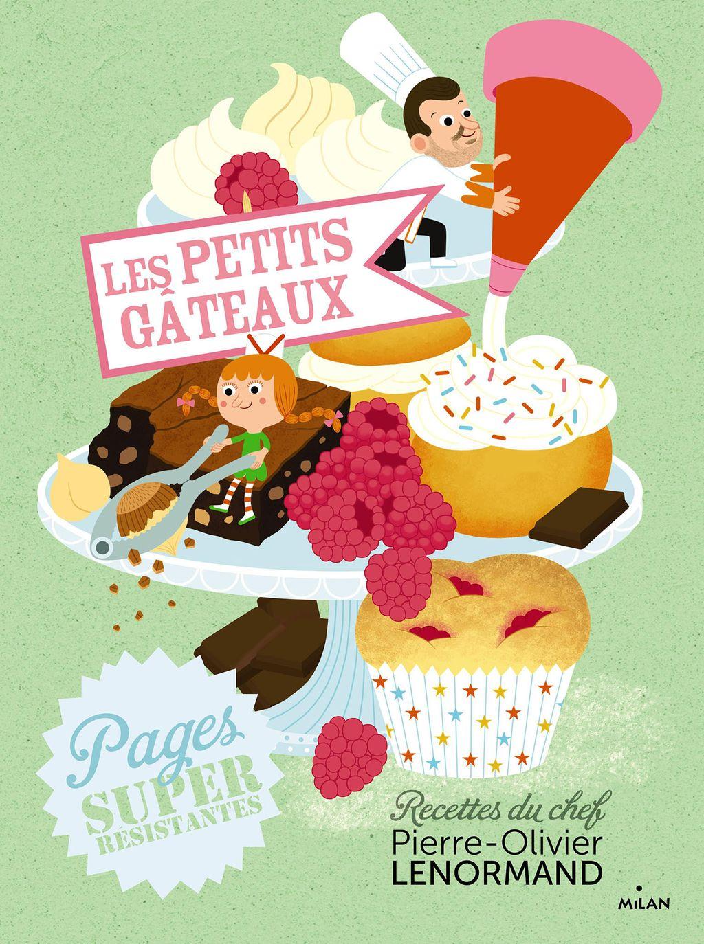 Couverture de «Les petits gâteaux»